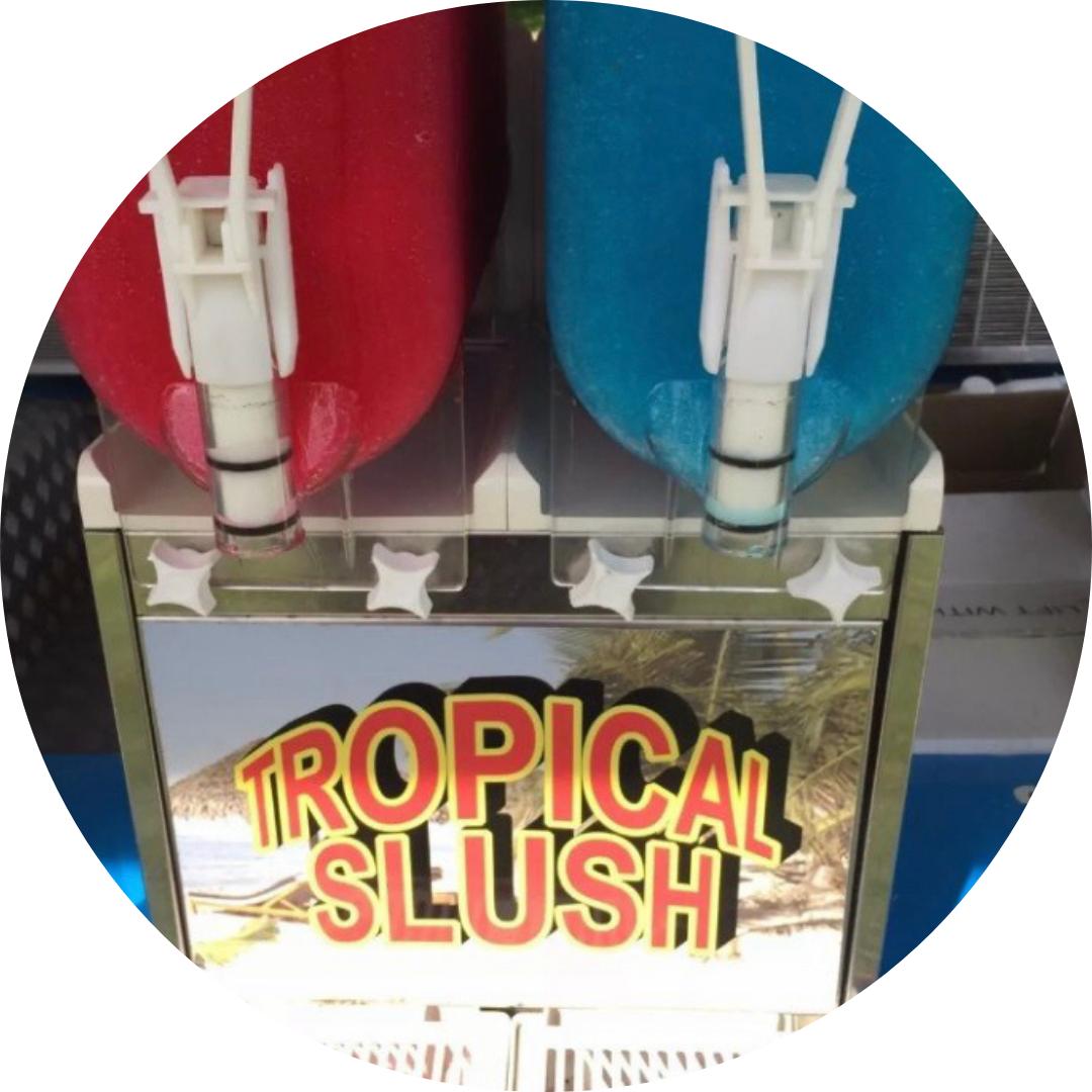 Ice Cream Cart & Slushy Machine